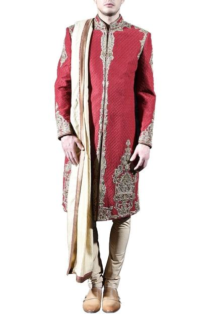 Latest Collection of Sherwanis by Sanchit Mehra - Men