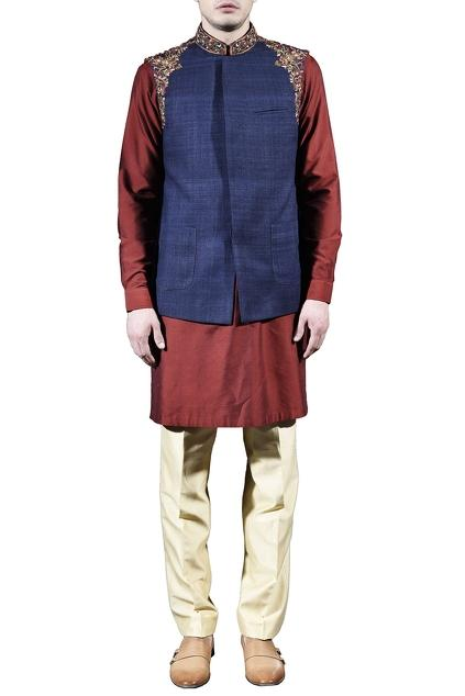 Latest Collection of Jackets by Sanchit Mehra - Men