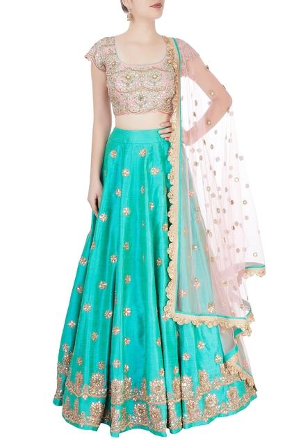 Latest Collection of Lehengas by Mrunalini Rao
