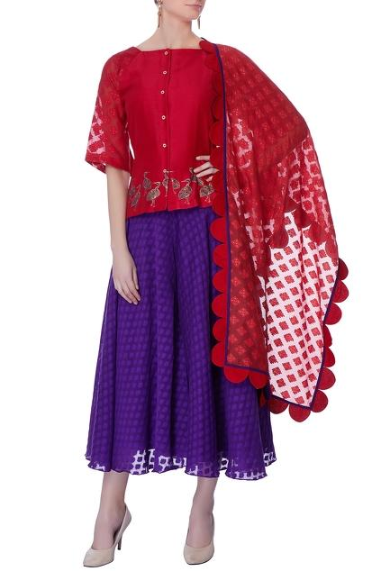 Latest Collection of Skirt Sets by Neeta Bhargava