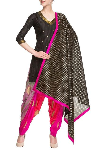 Latest Collection of Kurta Sets by Latha Puttana