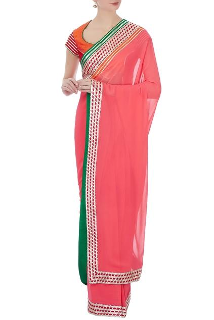 Latest Collection of Saris by Kunal Anil Tanna
