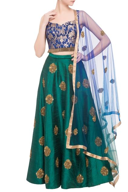 Latest Collection of Lehengas by Rajat k Tangri