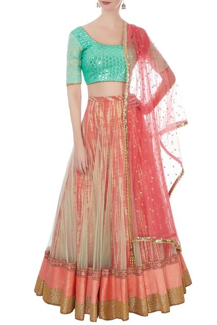 Latest Collection of Lehengas by Vikram Phadnis