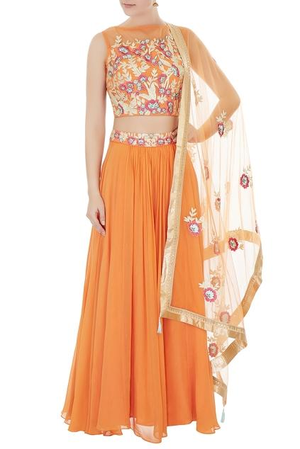 Latest Collection of Lehengas by Avinash Tomar