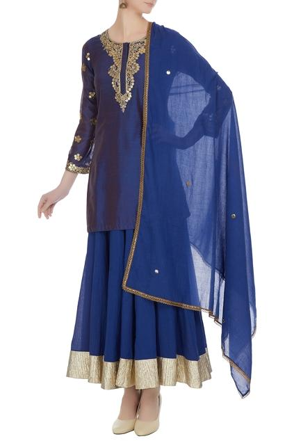 Latest Collection of Skirt Sets by Heena Kochhar
