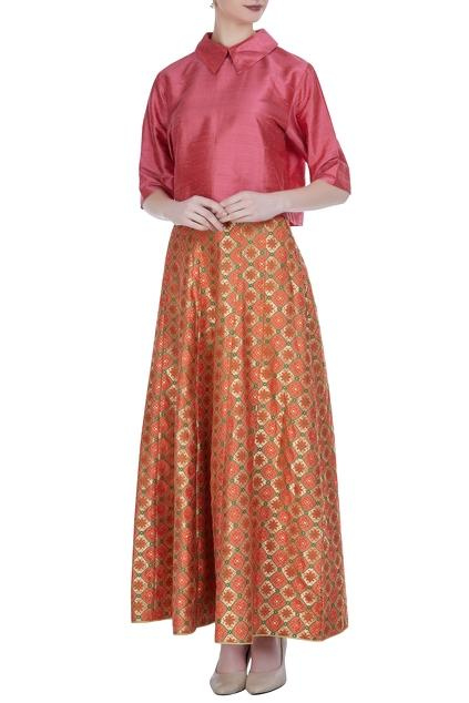 Latest Collection of Skirt Sets by Pinki Sinha