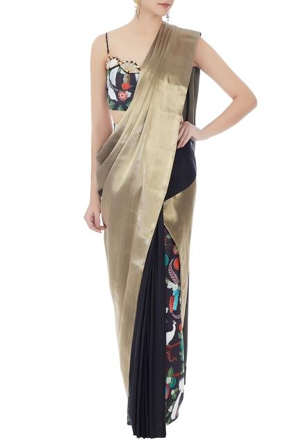 Latest Collection of Saris by Shivan and Narresh