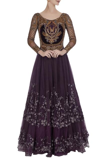 Latest Collection of Gowns by Kartikeya India