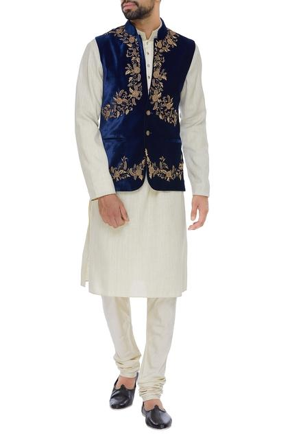 Latest Collection of Nehru Jackets by AQube by AMBER - Men