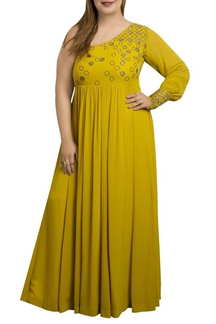 Latest Collection of Gowns by Half Full Curve