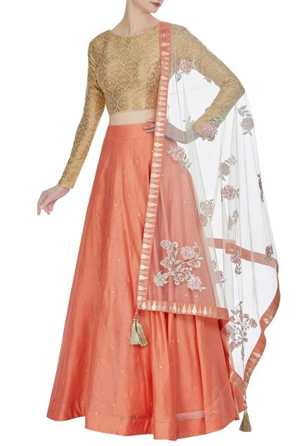 Latest Collection of Lehengas by Matsya