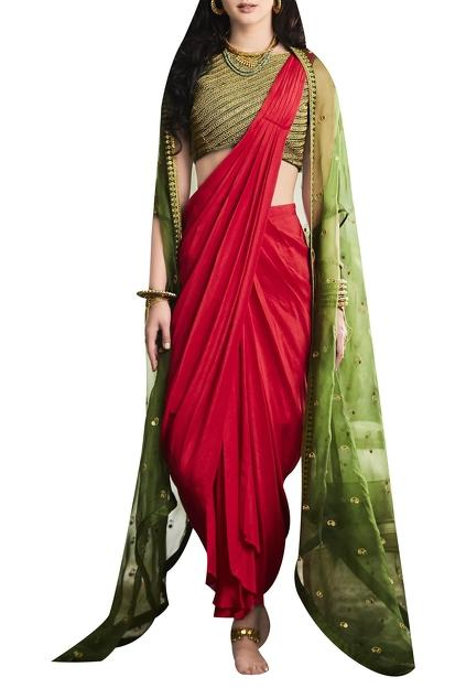 Latest Collection of Saris by Tisha Saksena