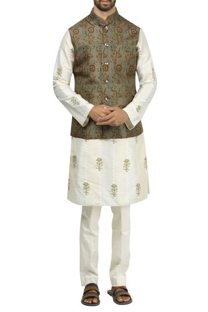 Latest Collection of Nehru Jackets by Rohit Bal - Men
