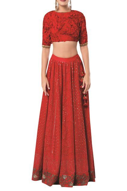 Latest Collection of Lehengas by ROCKY STAR