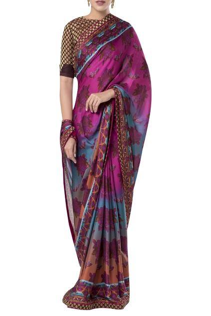 Latest Collection of Saris by Rocky Star