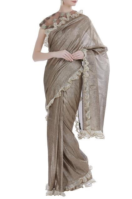 Latest Collection of Saris by Rina Dhaka