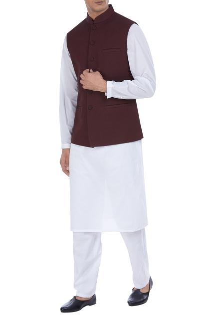 Latest Collection of Nehru Jackets by Rajesh Pratap Singh - Men