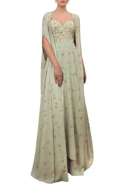 Latest Collection of Gowns by Sana Barreja