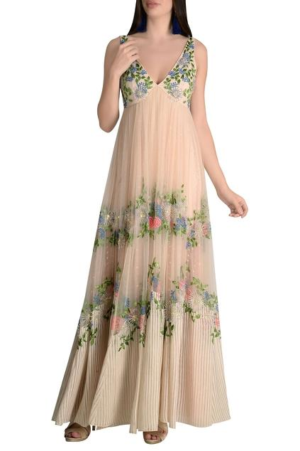 Latest Collection of Gowns by Not So Serious By Pallavi Mohan