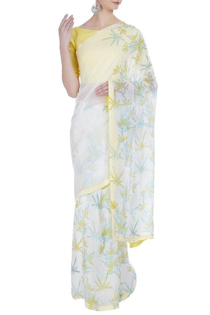 Latest Collection of Saris by Vedika M