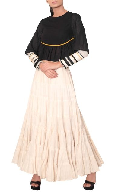 Latest Collection of Skirts by Purvi Doshi