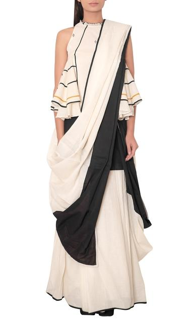 Latest Collection of Saris by Purvi Doshi