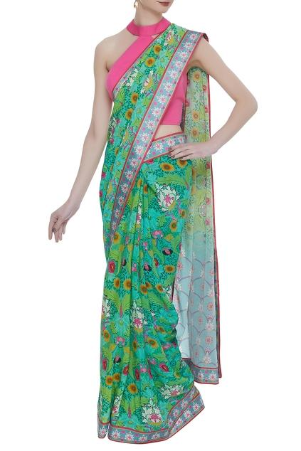 Latest Collection of Saris by Siddhartha Bansal