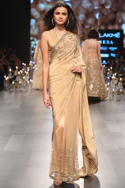 Latest Collection of Saris by Shyamal & Bhumika