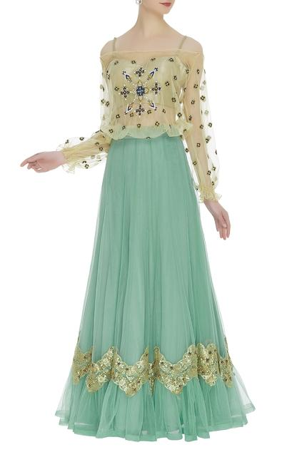 Latest Collection of Lehengas by Bhairavi Jaikishan