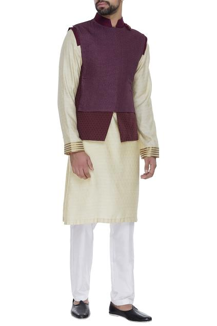 Latest Collection of Nehru Jackets by Kunal Anil Tanna - Men