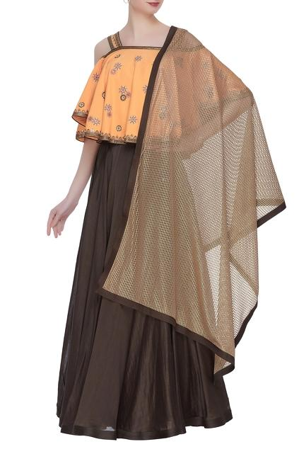 Latest Collection of Lehengas by LABBADA
