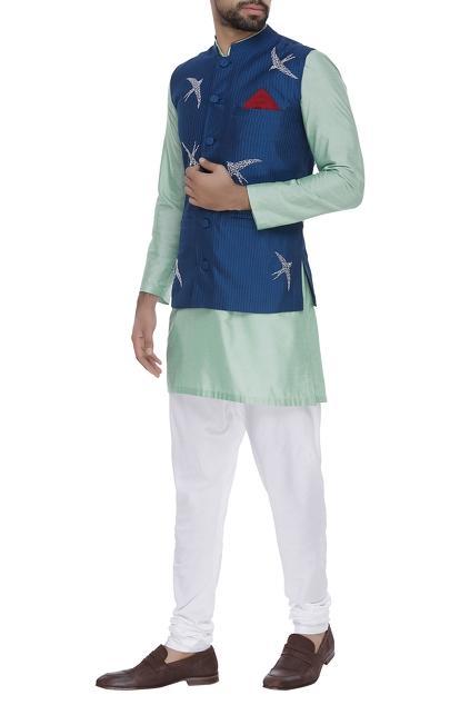 Latest Collection of Nehru Jackets by Nachiket Barve - Men