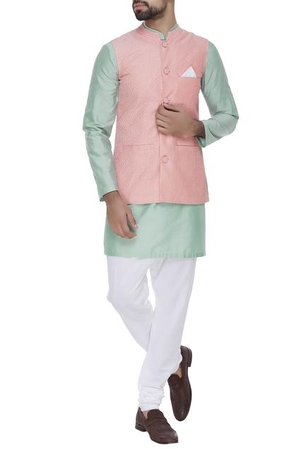 Latest Collection of Nehru Jackets by Nachiket Barve - Men