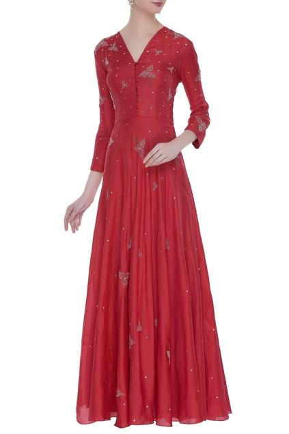 Latest Collection of Gowns by Nachiket Barve