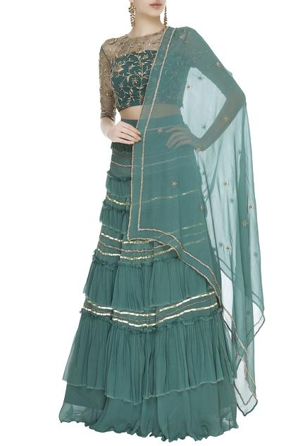Latest Collection of Lehengas by Ohaila Khan