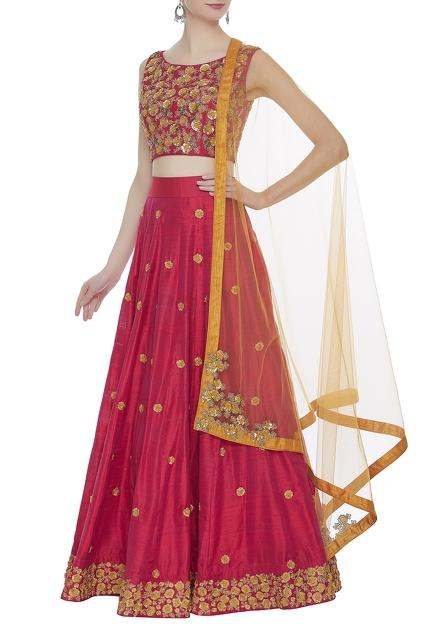 Latest Collection of Lehengas by Smriti Jhunjhunwala