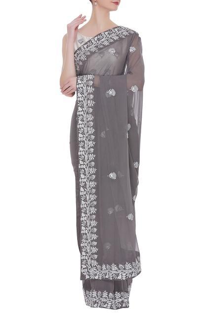 Latest Collection of Saris by Smriti Jhunjhunwala