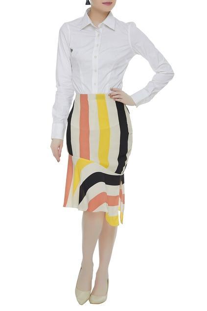 Latest Collection of Skirts by Smriti Jhunjhunwala