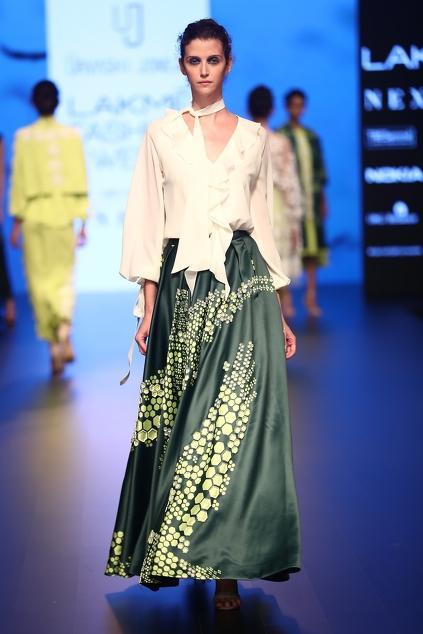 Latest Collection of Skirts by Urvashi Joneja