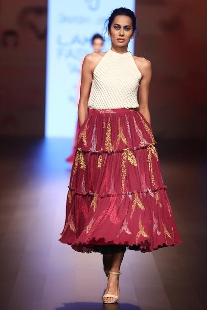 Latest Collection of Skirts by Urvashi Joneja