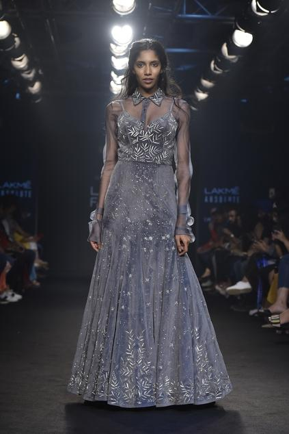 Latest Collection of Gowns by Mishru