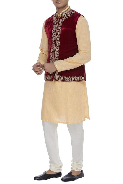 Latest Collection of Nehru Jackets by WYCI - Men