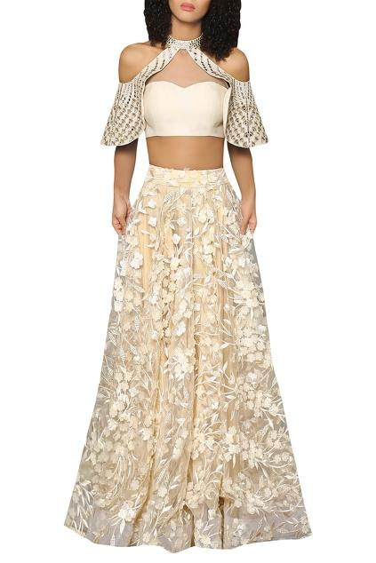 Latest Collection of Lehengas by Reynu Taandon