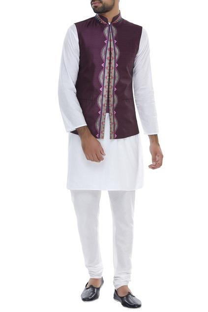 Latest Collection of Nehru Jackets by Siddhartha Bansal - Men