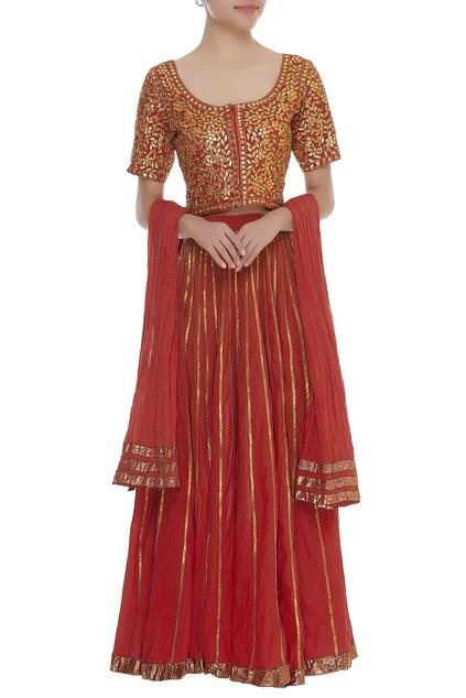Latest Collection of Lehengas by Nazar by Indu