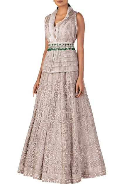 Latest Collection of Gowns by Ridhi Mehra