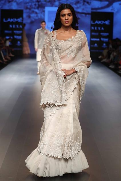 Latest Collection of Saris by Anushree Reddy