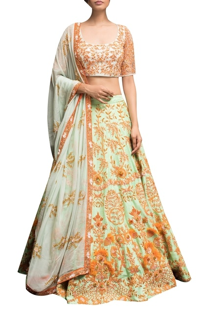 Latest Collection of Lehengas by GARO BY PRIYANGSU & SWETA