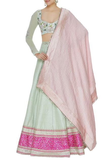 Latest Collection of Lehengas by Divya Reddy